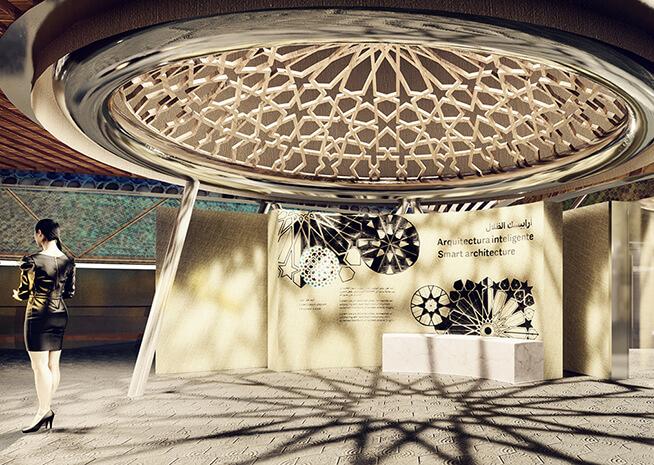 Professor Carmelo Zappulla Designs A Technological Forest For The Spanish Pavilion At Dubai 2020